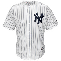 New York Yankees Majestic Official Authentic Collection Cool Base Jersey – White