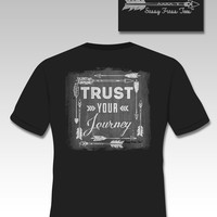 Sassy Frass Funny Trust Your Journey Comfort Colors Sweet Girlie Bright T Shirt