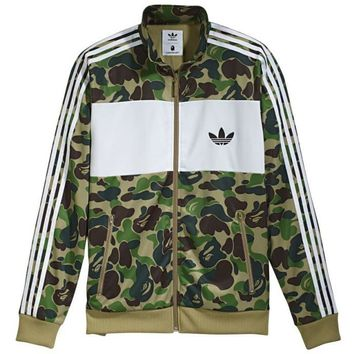 Trendsetter  Adidas  Men  Fashion Cotton Cardigan Jacket Coat