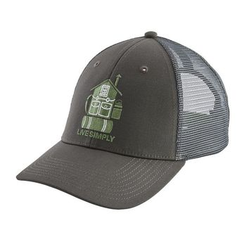 321df08ac4f7b PATAGONIA LIVE SIMPLY HOME LOPRO TRUCKER HAT