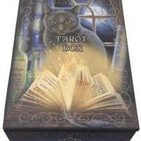 "5 1/2"" x 4"" Bewitched tarot box"