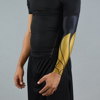 Icarus Black and Gold Arm sleeve