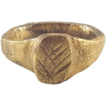 MEDIEVAL GIRL'S OR WOMAN'S RING, 8th-10th CENTURY