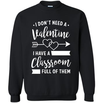 Teacher Valentine's Day Shirt, Funny Classroom School Gift