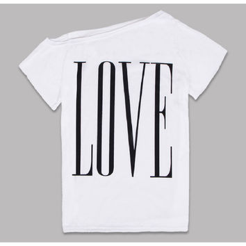 New 2016 Women Tops Summer Ladies T shirt Sexy Crop Tops Letter T-shirt Slim Short Female Clothes Slim Kpop Top