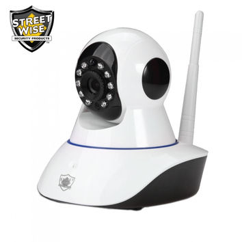 Streetwise IP Wireless Camera w/ Pan & Tilt