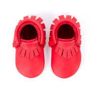 Children's Moccasins (Cherry)
