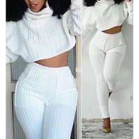 STYLISH STITCHING SPORTS TWO-PIECE