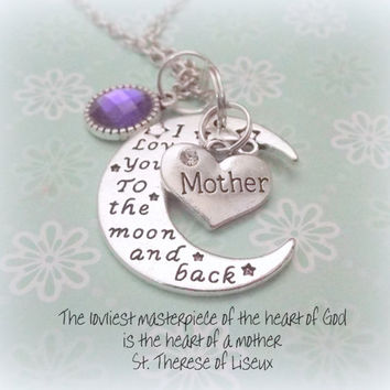 Gift for Mother, Jewelry Gift for Mom, Daughter to Mother gift, Personalized Gift for Mom, Birthstone Jewelry Gifts for Mom, Mom Gift