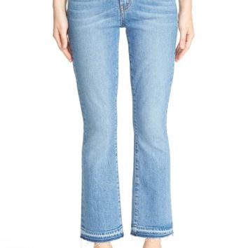Derek Lam 10 Crosby 'Gia' Crop Flare Jeans (Light Wash) | Nordstrom