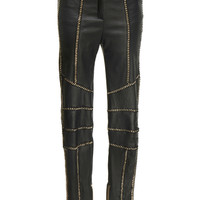 Chain Leather Trousers | Moda Operandi