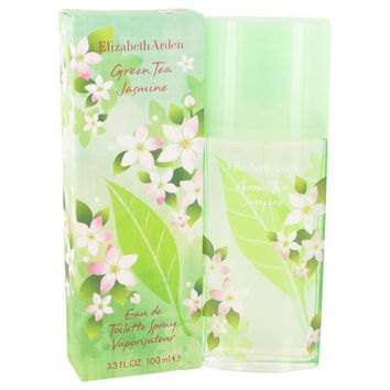 Green Tea Jasmine by Elizabeth Arden Eau De Toilette Spray 3.4 oz