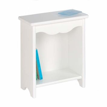 Little Colorado 86-WHITEWOOD White Toddler Bedside Stand