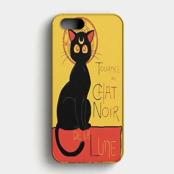 Luna Cat Sailor Moon iPhone SE Case