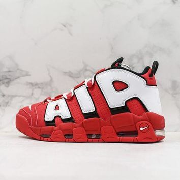 Nike Air More Uptempo Qs Ps University Red Sneakers DCCK