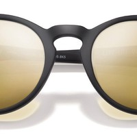Sunski Dipseas Black Sunglasses / Gold Polarized Lenses