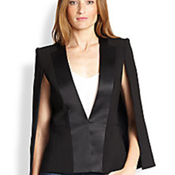 BCBGMAXAZRIA - Frances Cape-Back Blazer - Saks Fifth Avenue Mobile