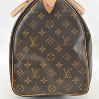 Authentic Louis Vuitton Monogram Speedy 40 Hand Bag M41522 #U777