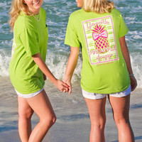 Jadelynn Brooke Pineapple of My Eye Tee - Green