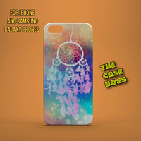 DREAMCATCHER GALAXY PINK Design Custom Phone Case for iPhone 6 6 Plus iPhone 5 5s 5c iphone 4 4s Samsung Galaxy S3 S4 S5 Note3 Note4 Fast!