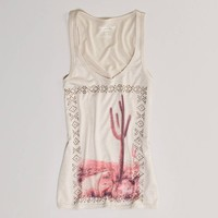 AE Studded Graphic Tank   American Eagle Outfitters