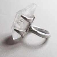 Crystal Ring | NOT JUST A LABEL