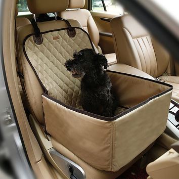 Silky 2-in-1 Pet Booster Seat Carrier & Seat Cover