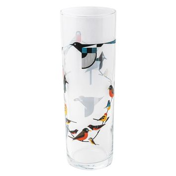 Charley Harper Drinkware: Birds on a Vine