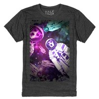 Beagles In Space!-Unisex Heather Onyx T-Shirt