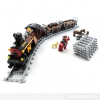 Livestock Steam Train - Lego Compatible Toy