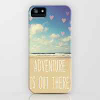 adventure is out there iPhone Case by Sylvia Cook Photography | Society6