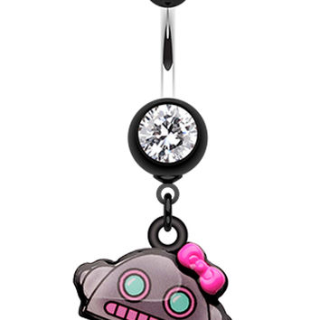 Lilly-Bot Belly Button Ring