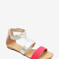 Hazy-02 All Mixed Up Wide Strap Sandal