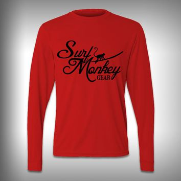 Surf Monkey - Performance Shirt - Fishing Shirt - Decal Shirts
