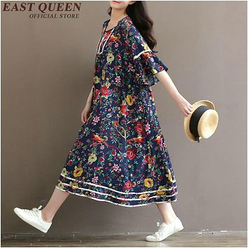 Long hippie dresses boho hippie dress mexican dress KK281
