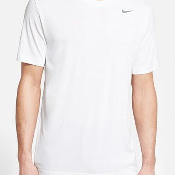 Men's Nike Dri-FIT Touch Heathered Short Sleeve T-Shirt
