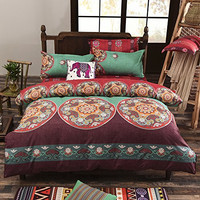 Cordyn Bohemian Moroccan Print 3PC Bedding SET