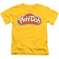 Play Doh Boys T-Shirt Logo Yellow Tee