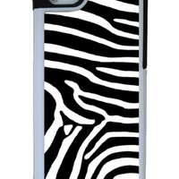 Zebra print iPhone 5 case with extra protection- iPhone 5 cover, 2 piece rubber lining case