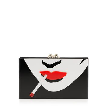 Charlotte Olympia Women's Designer Clutch Bags | Charlotte Olympia - PAPERCUT PANDORA