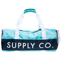 The Dlyc Duffle Bag in Diamond Blue