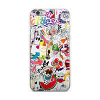 Watermelon Skittles Cup Cake Girl Code Collage Teen Cute Girly Girls Paparazzi iPhone 4 4s 5 5s 5C 6 6s 6 Plus 6s Plus 7 & 7 Plus Case