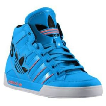 adidas Originals Hard Court Hi Big Logo - Boys' Grade School at Foot Locker