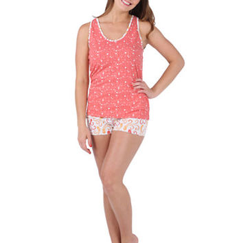 Munki Munki Bubbling Octopus Racerback Tank and Shorts Set