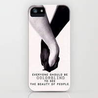 The beauty of the people - for iphone iPhone & iPod Case by Simone Morana Cyla