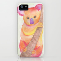 Colorful Koala iPhone & iPod Case by Haleyivers
