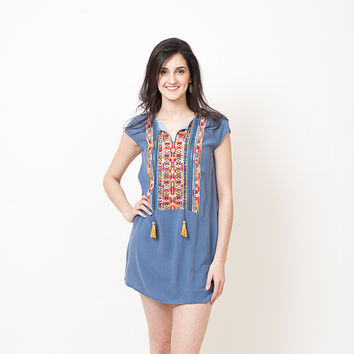 THML - Embroidered Dress