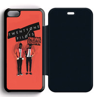 Twenty One Pilots Emotional iPhone 5|5C|5SFlip Case  Sintawaty.com