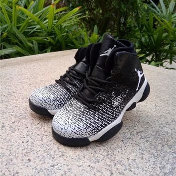 Nike Air Jordan 31 XXXI Black White Kid Basketball Shoes for Youth Boys and Child