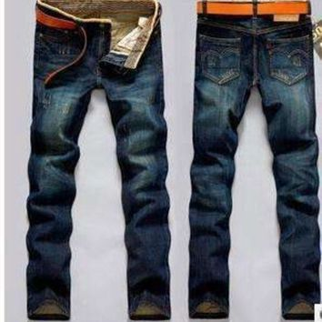 ONETOW famousMens jeans jeans men 100% cotton regular men jeans robin denim man jeans homme fw598